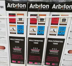 Jakość, innowacja, komfort, czyli podkłady pod panele Arbiton